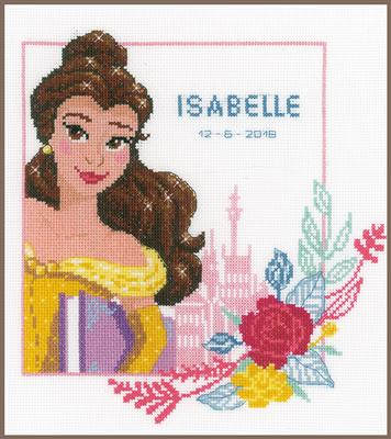 Beauty /& The Beast PN-0168067 Vervaco Counted Cross Stitch Kit